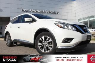 Used 2015 Nissan Murano Murano SL,one owner accident free trade with only 43000kms. Nissan certified preowned! for sale in Toronto, ON