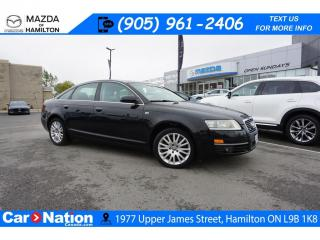 Used 2007 Audi A6 4.2L | AS-TRADED | LEATHER | SUNROOF | NAV | AWD for sale in Hamilton, ON