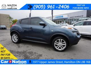 Used 2013 Nissan Juke SL | LEATHER | SUNROOF | NAV | REAR CAM for sale in Hamilton, ON