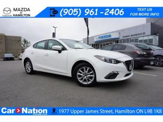Used 2015 Mazda MAZDA3 GS | NAV | REAR CAM | 6 SPEED for sale in Hamilton, ON