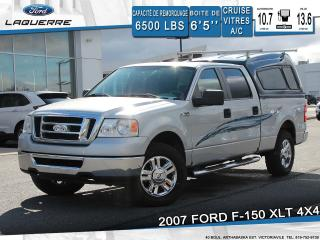Used 2007 Ford F-150 XLT 4X4**A/C*CRUISE*GROUPE ELECTRIQUE** for sale in Victoriaville, QC