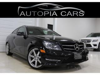 Used 2014 Mercedes-Benz C-Class 2dr Cpe C 350 4MATIC for sale in North York, ON
