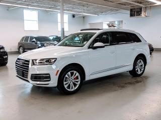 Used 2017 Audi Q7 TECHNIK/DRIVER ASSIST/7 PASS/VENTILATED SEATS/360 CAMERA! for sale in Toronto, ON