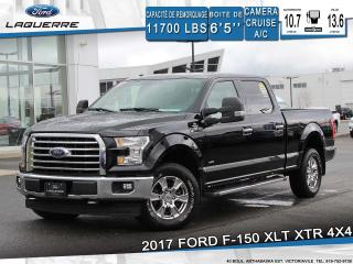 Used 2017 Ford F-150 XLT XTR 4X4**CAMERA*BLUETOOTH*CRUISE*A/C** for sale in Victoriaville, QC