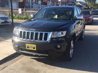 Used 2011 Jeep Grand Cherokee 4WD 4dr Overland for sale in Scarborough, ON