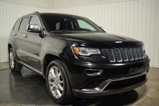 Used 2015 Jeep Grand Cherokee SUMMIT 4X4  ECODIESEL TOIT CUIR NAV for sale in St-Hubert, QC