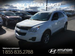 Used 2013 Chevrolet Equinox LS + GARANTIE + MAGS + CRUISE + A/C !! for sale in Drummondville, QC