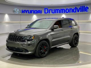 Used 2016 Jeep Grand Cherokee SRT + GARANTIE FULL + CUIR RARE + WOW !! for sale in Drummondville, QC
