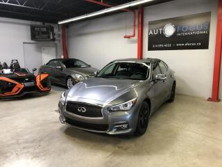Used 2015 Infiniti Q50 SPORT AWD AUTO,GPS,CAMÉRA,CUIR.TOIT for sale in Montréal, QC