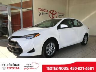 Used 2017 Toyota Corolla * CE * VITRES ELECT * A/C * BLUETOOTH * for sale in Mirabel, QC