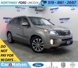 Used 2015 Kia Sorento SX | AWD | NAV | HTD+AC LEATHER | PANOROOF | for sale in Brantford, ON