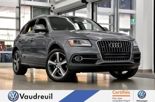 Used 2016 Audi Q5 2.0T Technik quattro * S-LINE * TOIT PAN for sale in Vaudreuil-Dorion, QC