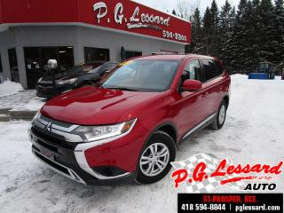 Used 2019 Mitsubishi Outlander Es awd camera siege chauffant bluetooth for sale in St-Prosper, QC