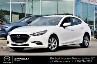 Used 2017 Mazda MAZDA3 GX MAZDA 3 GX 2017 for sale in Lachine, QC