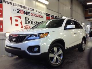 Used 2013 Kia Sorento EX / SX GPS CUIR TOIT PANO V-6 AWD FULL ÉQUIPPÉ ! for sale in Blainville, QC