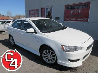 Used 2012 Mitsubishi Lancer SE MAG A/C GR ELECT for sale in St-Jérôme, QC