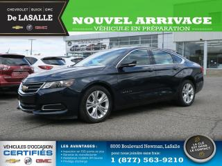 Used 2015 Chevrolet Impala 2 LT / V6 / TOIT PANO 2 LT / V6 / TOIT PANO for sale in Lasalle, QC