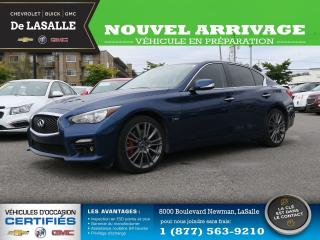 Used 2017 Infiniti Q50 3.0t Red Sport 400 3.0t Red Sport 400 for sale in Lasalle, QC