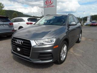 Used 2016 Audi Q3 2.0T Komfort quattro toit for sale in Val-David, QC