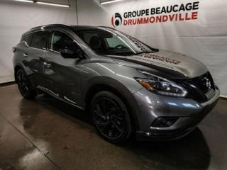 Used 2018 Nissan Murano SL for sale in Drummondville, QC