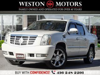 Used 2008 Cadillac Escalade EXT AWD*LEATHER*SUNROOF*NAVI*REVERSE CAMERA!!* for sale in Toronto, ON