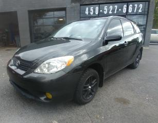Used 2006 Toyota Matrix AIR CLIMATISÉ for sale in Beloeil, QC