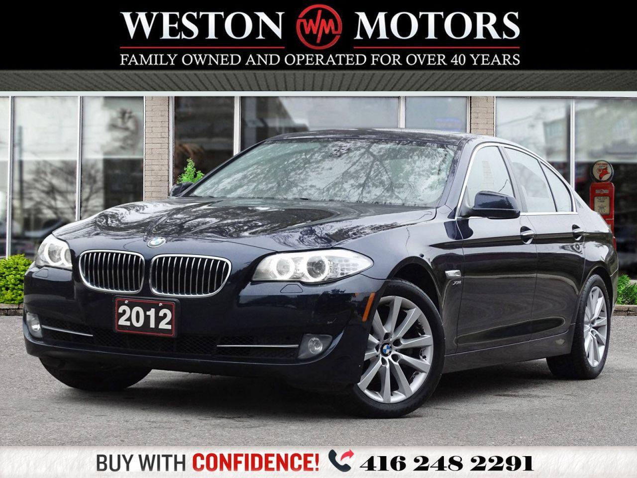 2012 BMW 5 Series *NAVI*BTOOTH*REV CAM*SUNROOF*LEATHER!!*