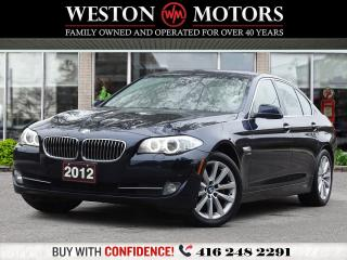 Used 2012 BMW 5 Series *NAVI*BTOOTH*REV CAM*SUNROOF*LEATHER!!* for sale in Toronto, ON