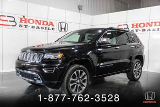 Used 2017 Jeep Grand Cherokee OVERLAND + V6 + GARANTIE + NAVIG+ BLUETH for sale in St-Basile-le-Grand, QC