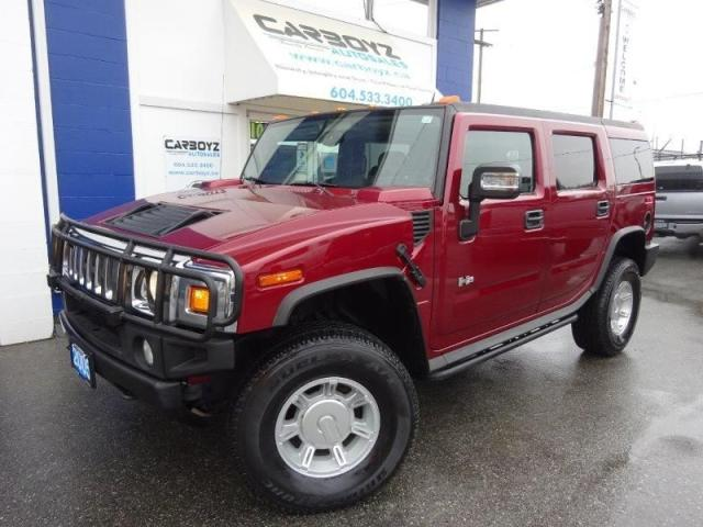 2005 Hummer H2 4x4, Leather, B.C. Vehicle, Only 116,381 Kms.