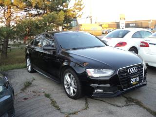 Used 2016 Audi A4 S Line for sale in Oakville, ON