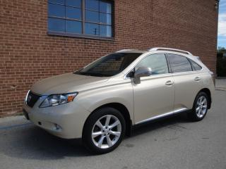 Used 2010 Lexus RX 350 Navigation, Camera, Leather, Roof for sale in Oakville, ON