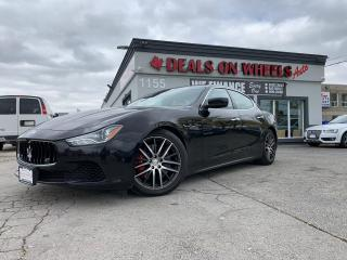 Used 2015 Maserati Ghibli S Q4 for sale in Oakville, ON