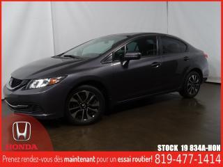 Used 2015 Honda Civic EX+CAMÉRA+SIEGCHAUF+BLUETOOTH+REGVIT for sale in Drummondville, QC