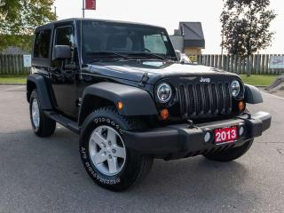 Used 2013 Jeep Wrangler Sport 2dr 4WD Sport Utility Vehicle for sale in Brantford, ON