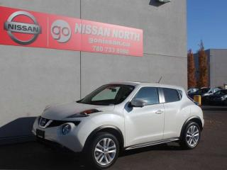 Used 2017 Nissan Juke SL/AWD/LEATHER/HEATED SEATS/BACKUP CAM/LOW KM for sale in Edmonton, AB