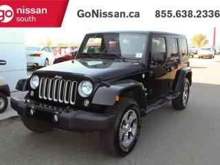 Used 2018 Jeep Wrangler JK Unlimited SAT RADIO BLUETOOTH TRACTION CONTROL for sale in Edmonton, AB