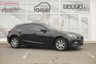Used 2014 Mazda MAZDA3 GX Sport ***BAS KILOMETRAGE*** for sale in Québec, QC