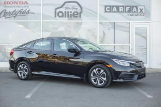 Used 2017 Honda Civic LX ***GARANTIE GLOBALE JUSQU'EN 2021*** for sale in Québec, QC