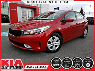 Used 2017 Kia Forte LX+ * SIÈGES CHAUFFANTS / BLUETOOTH for sale in St-Hyacinthe, QC