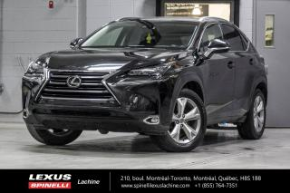Used 2015 Lexus NX 200t EXECUTIVE AWD; CUIR TOIT GPS ANGLES MORTS LSS+ NAVIGATION - AFFICHAGE TETE HAUTE - MONITEUR ANGLES MORT - PRÉ-COLLISION - SONAR DE STATIONNEMENT for sale in Lachine, QC