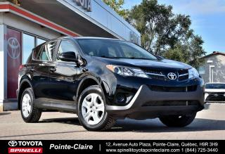 Used 2014 Toyota RAV4 ***RÉSERVÉ***LE FWD GROUPE ÉLECTRIQUE for sale in Pointe-Claire, QC