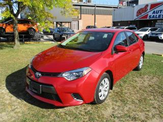 Used 2015 Toyota Corolla LE~BACK-UP CAM.~HEATED SEATS~BLUETOOTH~CERTIFIED! for sale in Toronto, ON