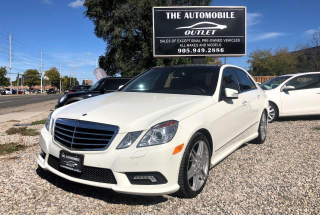 2010 Mercedes-Benz E550 E 550 ONE OWNER NAVI PANO ROOF NO ACCIDENT