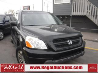 Used 2003 Honda Pilot EXL 4D Utility 4WD for sale in Calgary, AB