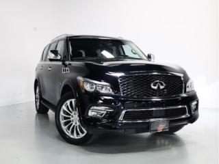 Used 2016 Infiniti QX80 TECH PKG   WARRANTY   REAR DVD   SUNROOF   7-PASS for sale in Vaughan, ON
