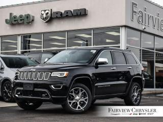 New 2020 Jeep Grand Cherokee Overland for sale in Burlington, ON