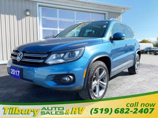 Used 2017 Volkswagen Tiguan Highline for sale in Tilbury, ON