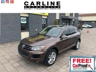 Used 2013 Volkswagen Touareg 4dr V6 for sale in Nobleton, ON