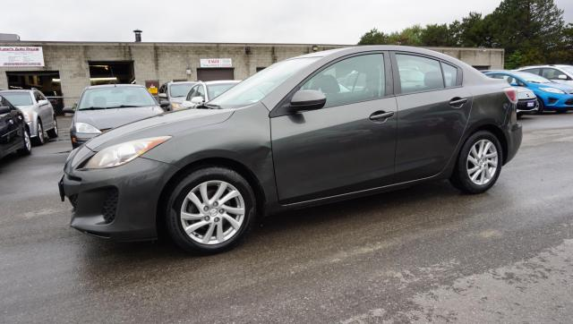 2012 Mazda MAZDA3 TOURING SEDAN AUTO CERTIFIED 2YR WARRANTY *1 OWNER* BLUETOOTH HEATED ALLOYS